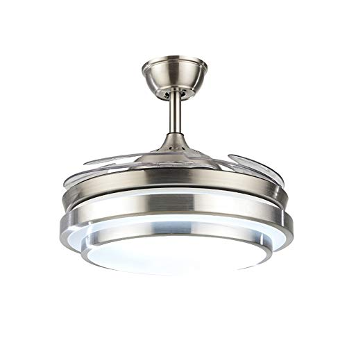 Fandian 42Inch Modern Ceiling Light with Fans Remote Control...