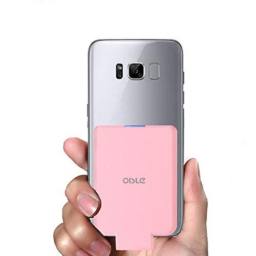 OISLE Power Bank Senza Fili 4500 per Android con Attacco Type C (Rosa)