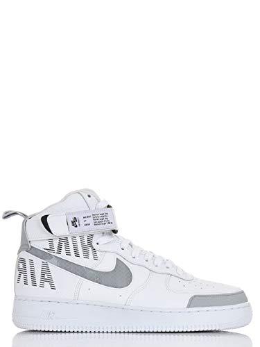 Nike Scarpa Air Force 1 High'07 LV8 2, Uomo, Bianco (41 EU)