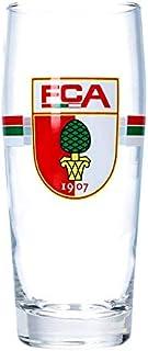FC Augsburg Wappen Bierglas 0,5l Rot Grün Weiss