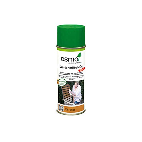 Osmo Gartenmöbel-Öl Spray Farblos 0,400 l - 10300060