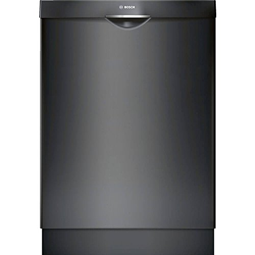Bosch SHS863WD6N 300 Series Built In Dishwasher with 5 Wash Cycles, 16 Place Settings, 3rd Rack, SpeedPerfect, RackMatic in Black
