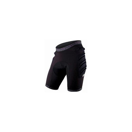 iXS Sports Division Skid Evo-II Short de Protection rembourré pour Femme Noir Noir Taille 38
