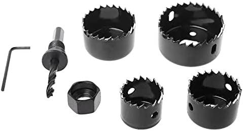6Pcs Hole Circular Saw Set trust Drill 32mm Cutting Round Bit Bombing free shipping 3 Cutter