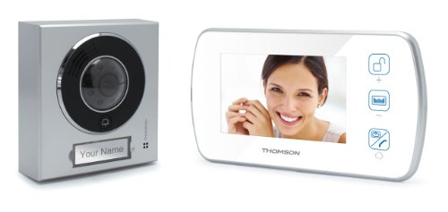 Avidsen 512160 Videoportero manos libres a color, Blanco