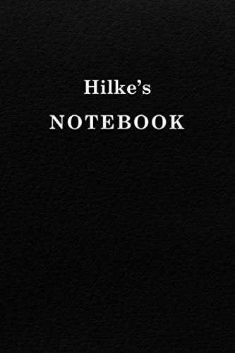 Hilke's Notebook University Graduation gift: Lined Notebook / Journal Gift, 120 Pages, 6x9, Soft Cover, Matte Finish