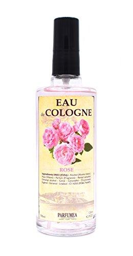 Eau de Cologne ROSE - ROSA est une fragrance délicate et subtile vaporisateur 125 ml