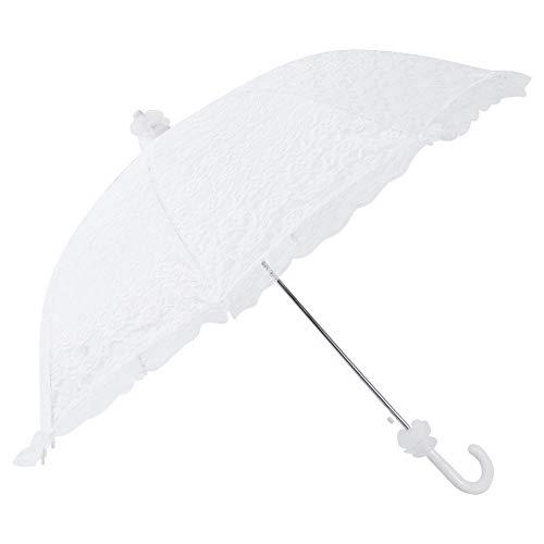 paraguas de encaje sombrilla de encaje vintage paraguas nupcial de la boda, para la actuación de la danza decoración del banquete de boda accesorios para fotos accesorio para disfraces