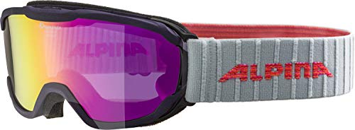 ALPINA PHEOS JR. Skibrille, Kinder, purple, one size