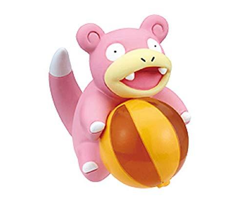 Nintendo Pokemon Giragira Sunshine Beach Ball Mini Figure~Slowpoke Yadon