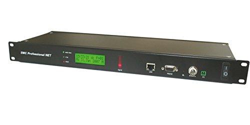 GUDE 3011 Zeitserver mit integrierter DCF77 Funkuhr für Industrieumgebungen 48,26 cm (19 Zoll) schwarz
