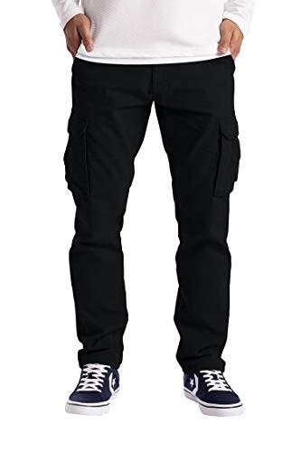 westAce Męskie spodnie bojówki odzież robocza bojowa bezpieczeństwo cargo 6 kieszeni pełne spodnie rozmiar 32-44