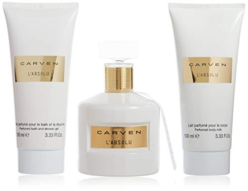 CARVEN L Absolu Edp 100ml - Gel douche 100ml - Lait corporel 100ml