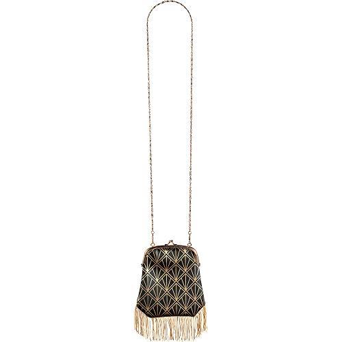 amscan Flapper Clutch Handbag with …