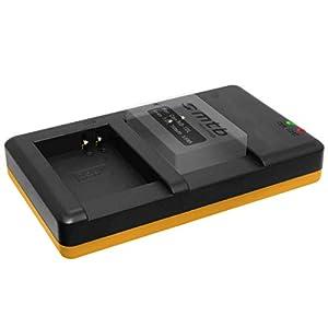 Cargador Doble (Corriente, USB) para Canon NB-10L / PowerShot G15, G16, G1 X, G3 X, SX40 HS, SX50 HS, SX60 HS/Fuente de alimentación Incluido