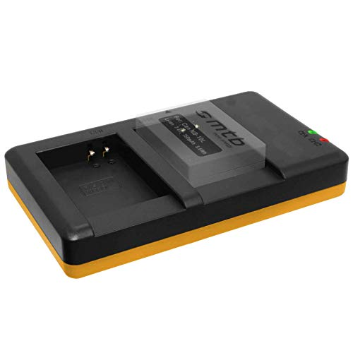 Cargador Doble (Corriente, USB) para Canon NB-10L / PowerShot G15, G16, G1...