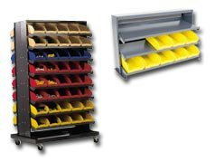 Quantum Storage Systems Bench Type Pick Racks(With Bins)...