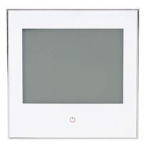 Termostato Programable Semanal BHT-1000GA Controlador De Temperatura Con Pantalla TáCtil LCD AC110‑230V Para Sistema De CalefaccióN De Caldera De Gas(Blanco)