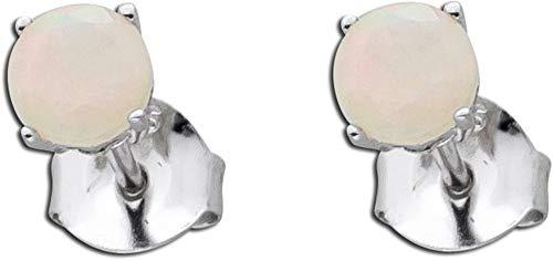 CH.ABRAMOWICZ Ohrringe Ohrstecker Sterling Silber 925 äthiopischer Opal
