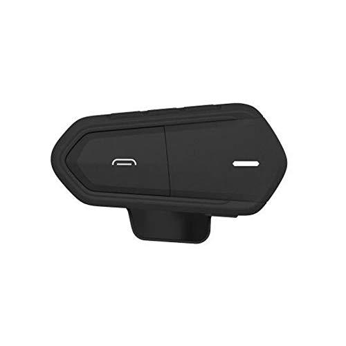 XBJSY Casco De Motocicleta Bluetooth V4.1 Auriculares Inalámbricos Anti-Interferentie VoorHelmet Intercom Moto Radio Manos Libres Auriculares GLZERJ (Color : Black)