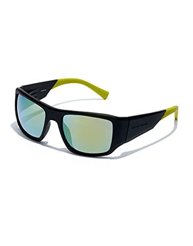 HAWKERS 360-CARBON Black Acid Gafas, Amarillo, Adulto Unisex Adulto