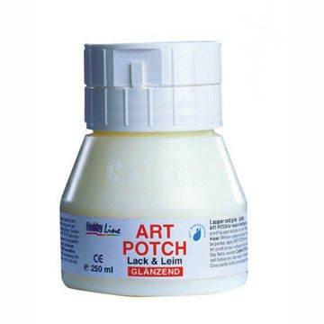 Art Potch Serviettenlack GLÄNZEND, 250 ml PREISHIT [Spielzeug]