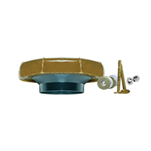 Fluidmaster 7511 Toilet Wax Ring with Flange and Bolts