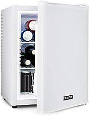 Klarstein Happy Hour - Minibar, Mininevera, nevera para bebidas, nevera de compresor, temperatura de 5 a 15 °C, eficiencia energética: A, silencioso: 0 dB, luz LED