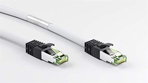 Cable de conexión Cat 8.1 S/FTP (PiMF) LSZH Material CU, 1,00m