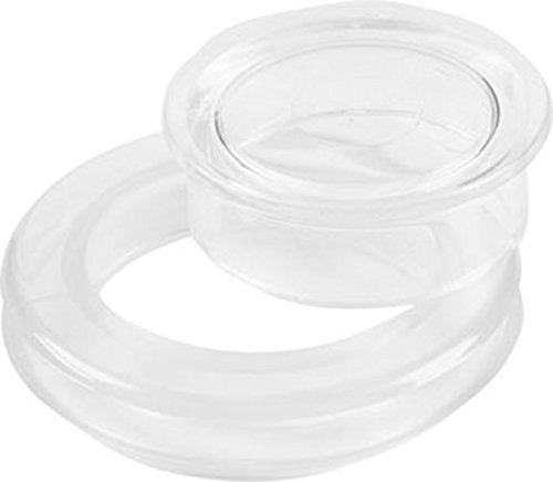 Project Patio 2' Umbrella Hole Ring Plug Set for Glass Outdoors Patio Table (Qty-1)