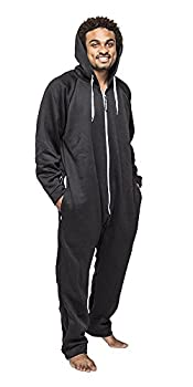 mens onesie with back flap