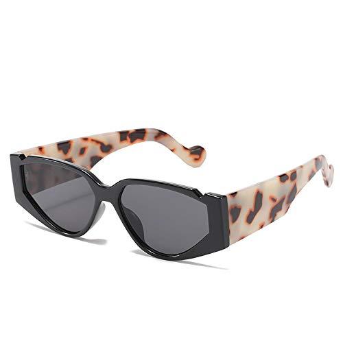 NJJX Gafas De Sol De Ojo De Gato Para Mujer, Moda De Lujo, Para Mujer, Retro, Color Caramelo, Gafas De Sol Para Conducción Para Mujer, C1Blackgray