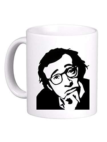 LE HERISSON Tazza Mug Woody Allen Regista Film Attore- Simpatica Divertente Regalo