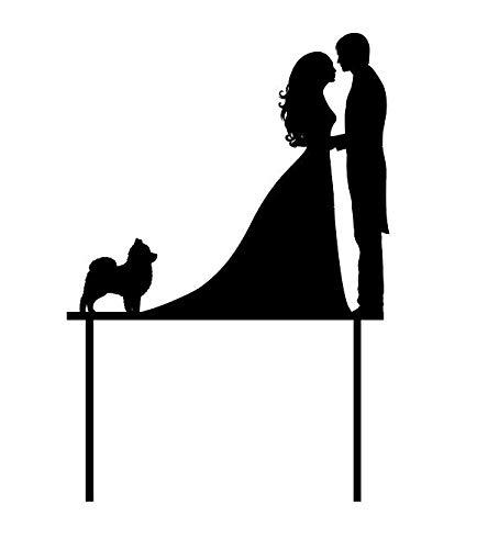Bruiloft Paar   Pomeraanse Taart Topper   Pomeraanse Hond Taart Topper   Bruiloft Pommeren   Bruiloft Taart Topper   Gemaakt om te bestellen in Australië
