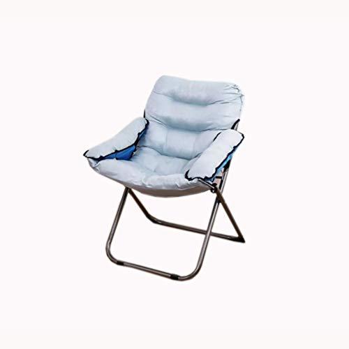 VIVOCC Pliant Chaise canapé Chaise Soucoupe de Lune, Surdimensionné Élégant Chaise de Salon canapé Divan Lits Dossier pour Chambre à Coucher Jeu Accueil Lecture TV-D 63x60x91cm(25x24x36inch)