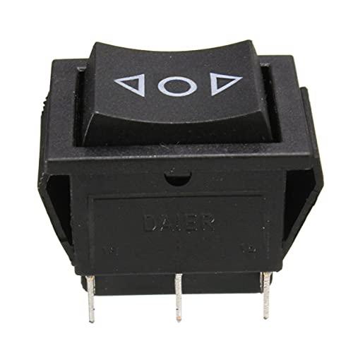 Morninganswer Interruptor de Eje de balancín de la Ventana de 6-Pin Dpdt, Eje de balancín momentáneo V de la Ventana eléctrica de la CA 250V / 6-Pin Dpdt