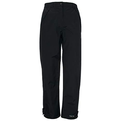 Trespass Miyake Trousers, Black, XS, Wasserdichte Hose für Damen, X-Small, Schwarz