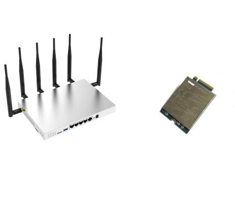 ZBT Routers WG3526 Wireless Router and EM12-G CAT12 Module