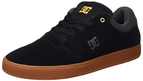 DC Shoes Crisis, Zapatillas de Skateboard para Hombre, Negro (Black/Grey/Black Xksk), 40 EU