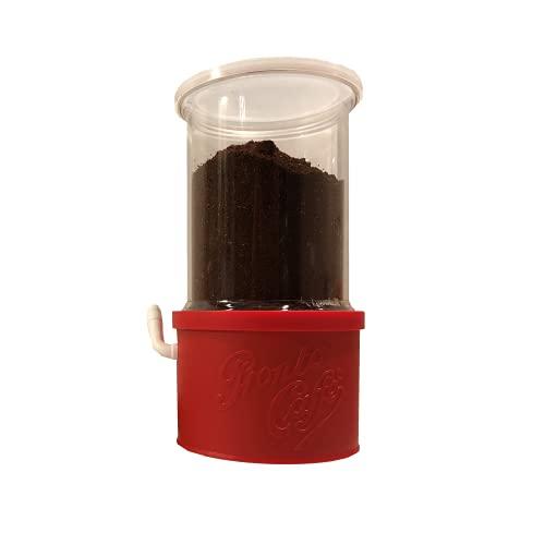 Lavatelli 159 pronto Caffe Crystal Contenitore per conservare caffè, con dispenser. 13 x 11 x 20 cm