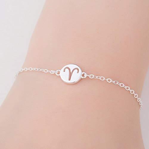 Trendy Zodiac Star Sign Constellation Aries Sagittarius Pisces Aquarius Cancer Bracelets For Women Friendship Bracelet