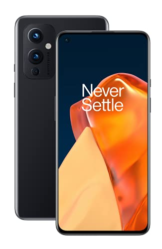 OnePlus 9 5G Smartphone Senza SIM con Fotocamera Hasselblad, 8 GB RAM + 128 GB, Nero (Astral Black)
