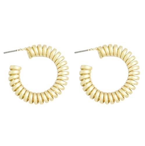 Vvff Popular Metal Irregular Geometric Earrings Women'S Jewelry Accessories Metal Series