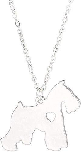 Aluyouqi Co.,ltd Collar con colgante de corazón de metal con diseño de hoja de llave, gargantilla para cosplay, accesorios de joyería, regalo para hombres y mujeres