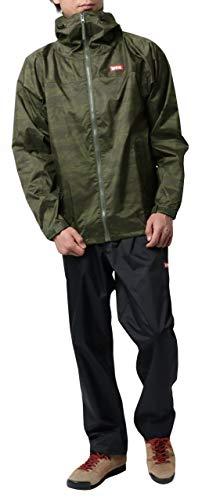 [エドウィン] レインウェア 上下セット レインコート レインスーツ 防水 自転車 通勤 通学 アウトドア 雨具...