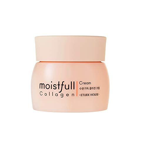 ETUDE HOUSE Moistfull Collagen Cream, Soft Moist Gel Type Moisturizing Facial Cream