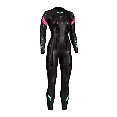 ROKA Maverick X2 Women's Wetsuit for Swimming and Triathlons - Large