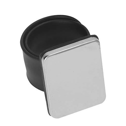 WINOMO 2 piezas magnético de costura Pin pulsera cojín titular de la pulsera para acolchar clips de pelo de silicona correa brazalete