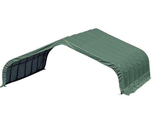 ShelterLogic Run-In-Weidezelt Lagerzelt, Lagerhütte // 610x670x320 (LxBxH) // 40,9m² // Weidezelt Unterstand Camping // für den ganzjährigen Gebrauch