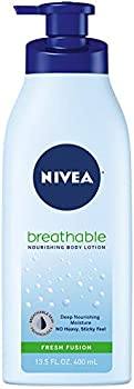 NIVEA Breathable Nourishing Body Lotion Fresh Fusion (13.5 fl oz)